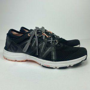 Salomon Crossamphibian Women's Size 7.5 Contagrip Water Shoes Swift Black 393453